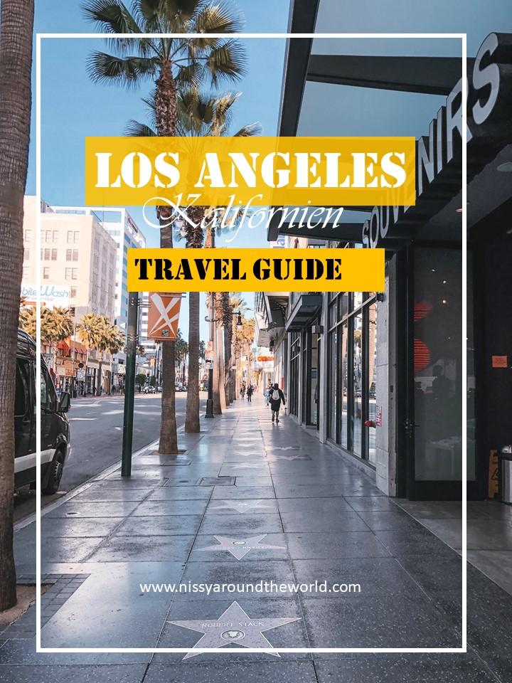 LA Travel Guide Pinterest